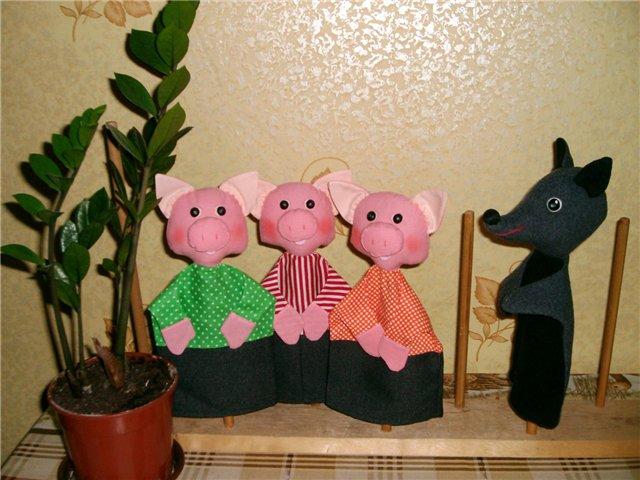 Куклы бибабо для кукольного театра